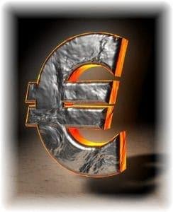 Jesus Euro-Cent Eurozeichen Zinseszins Wucher