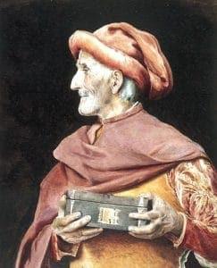 Vatikan geht an die Börse Kleingläubiger auf dem Weg zur Kirche…<br><small>Quelle: https://secure.wikimedia.org/wikipedia/commons/wiki/File:Maria_Fyodorovna-Miser.jpg</small>