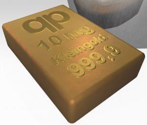Goldhandel zukünftig in Milligramm Kleingold in mg-Format, die Zukunft des Edelmetallhandels…