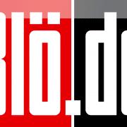 Bloe-de Logo BILD BLAD bloed Medien qpress online Klatschpresse Volksverdummung
