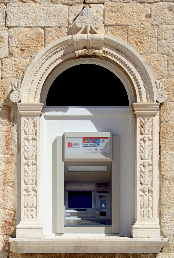 Cajero Automatico President Cash_Machine_in_Trogir