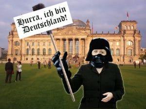 Bekennerbrief an das Merkel nebst Exilangebot Ich bin deutschland • Quelle: