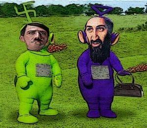 Al-Qaida kämpft in Syrien für Deutschlands Interessen Tali Tubbies goes Wall Street • Quelle: http://kamelopedia.net/index.php/Datei:Tali_tubbie.jpg Autor: Ungott