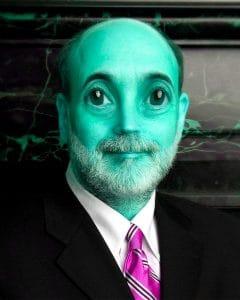 Aliens Heli Ben Bad Bankie alias Ben Bernanke • Quelle: Alien • Autor: XXXX