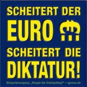 Draghische Momente einer €rotischen Einheizwährung Scheitert der Euro scheitert die Diktatur