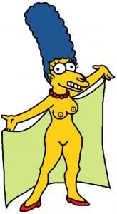 Monti fürs Grobe – Marge beruhigt Banken Marge Simpson beruhigt Banken