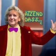 Wetten, dass Gottschalk Merkel mit mehr Froh-Locken