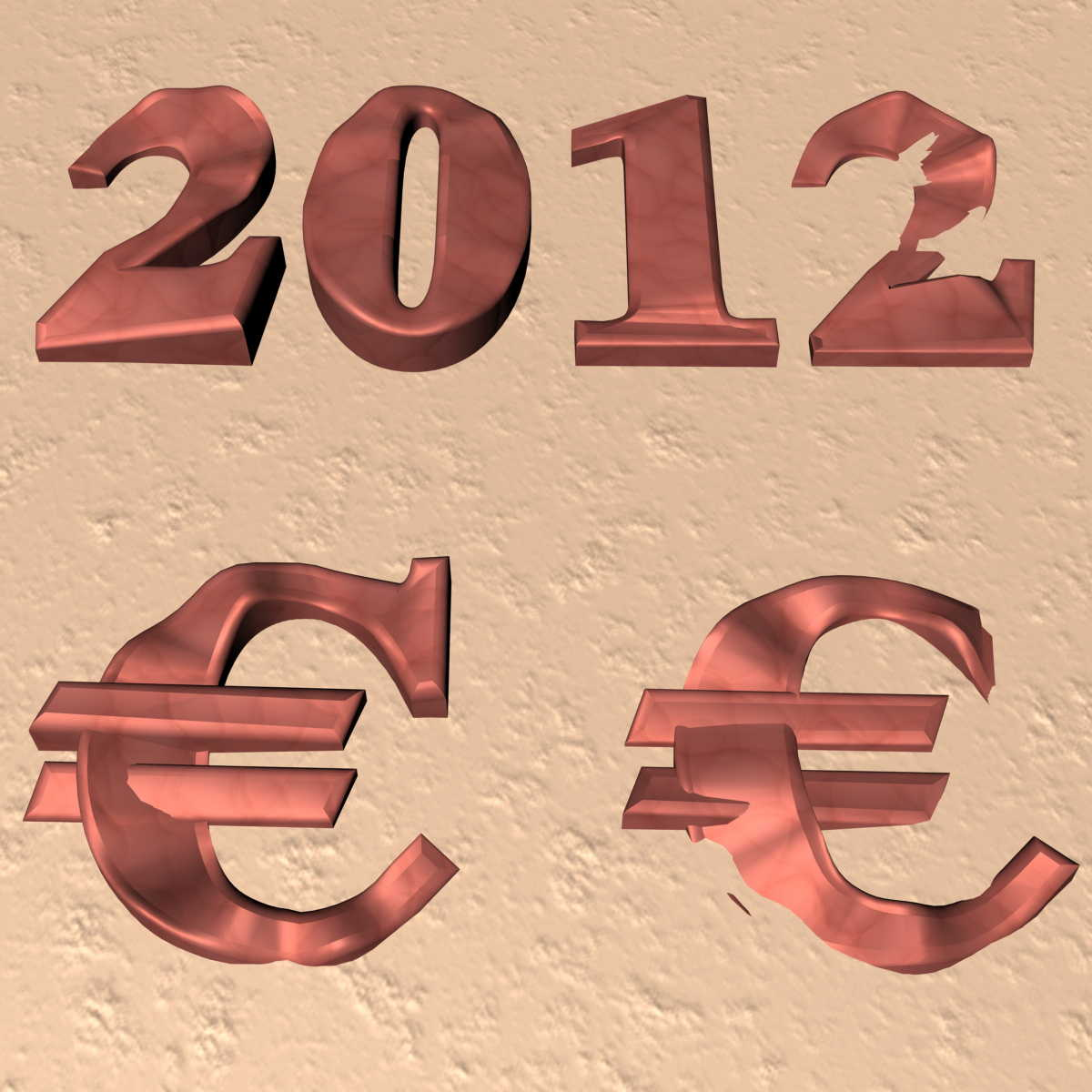 2012 der sterbende Euro