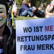 Occupy Bundestag Merkel