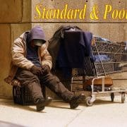 Standard & Poors Homeless Man