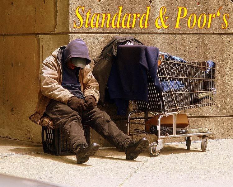 Standard & Poors Homeless Man
