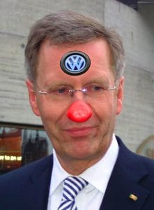 Neue Stellenbeschreibung für Bundespräsidenten per Gesetz Bundespraesident_Wulff_Clown