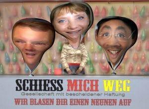 Eilige Drei Könige in Klausur - Ergebnis: Ein neues Volk Schiess_mich_weg_Eilige_Drei_Koenige