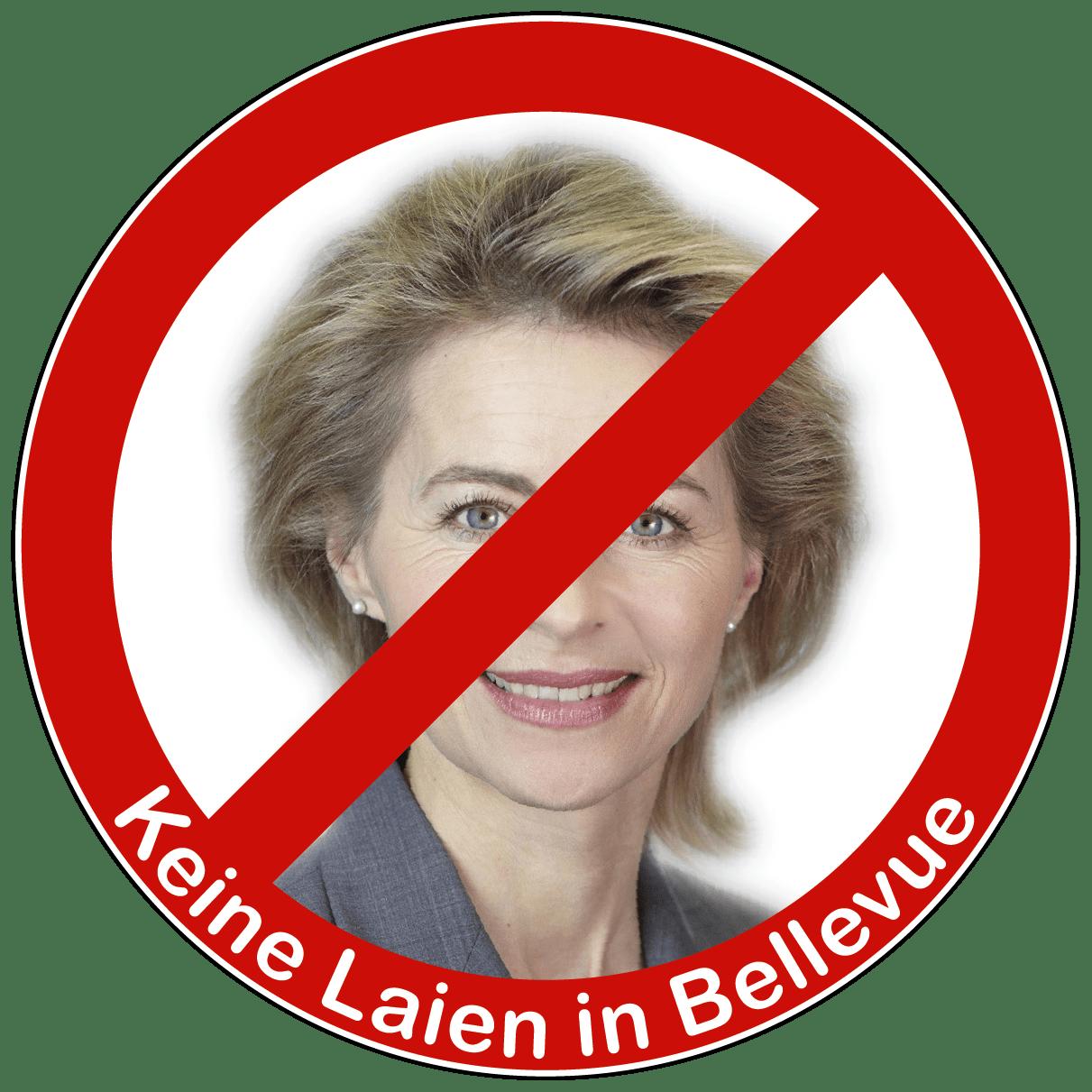 Keine Laien in Bellevue • Quelle: http://commons.wikimedia.org/wiki/File:Von_der_Leyen_2010.jpg • Autor: Laurence Chaperon