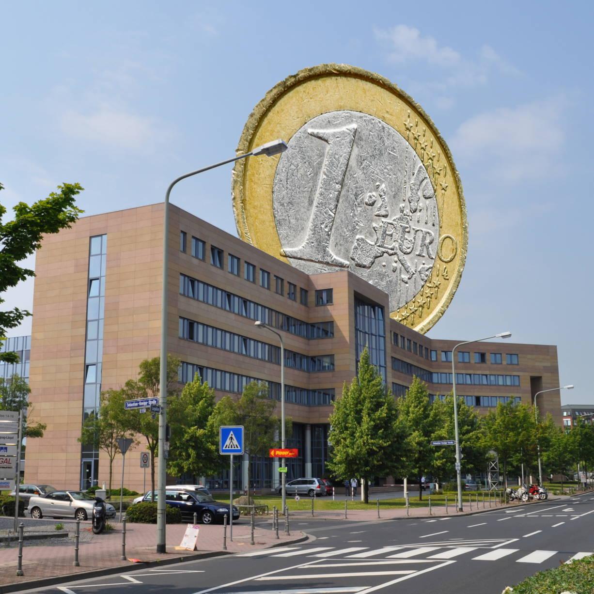 Frankfurt Bafin Euro Kopie Banken Steuer