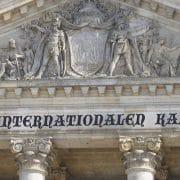 Reichstag Giebel Dem gewesenen Deutschen Volk