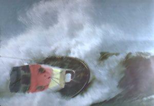 Rentner Tsunami Staatsschiff Untergang