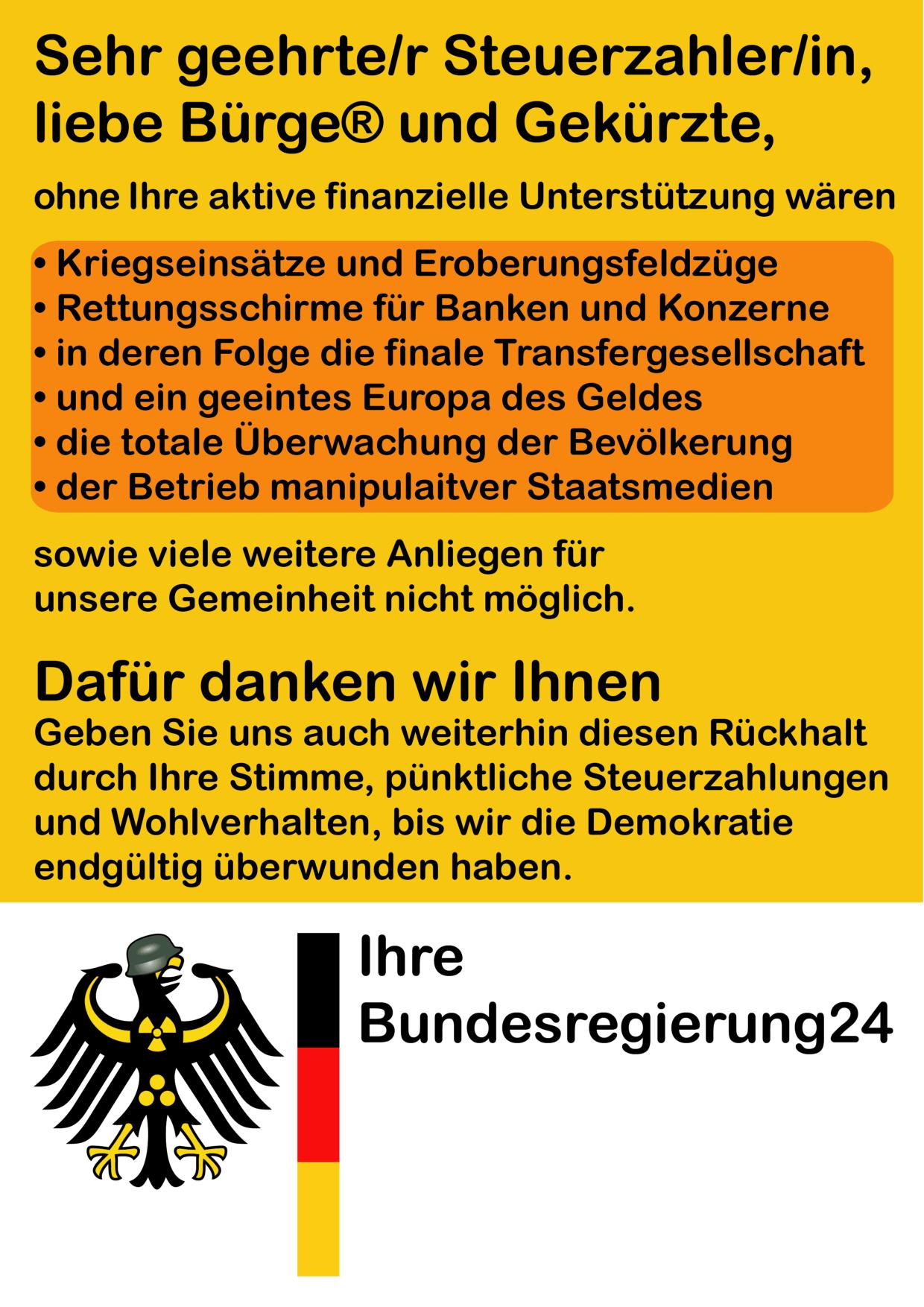 Merkels aufrechter Dank an die Bürger Dank-der-Regierung-an-die-Buerger