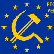 Flag_of_Europe pecunia veritas est-01