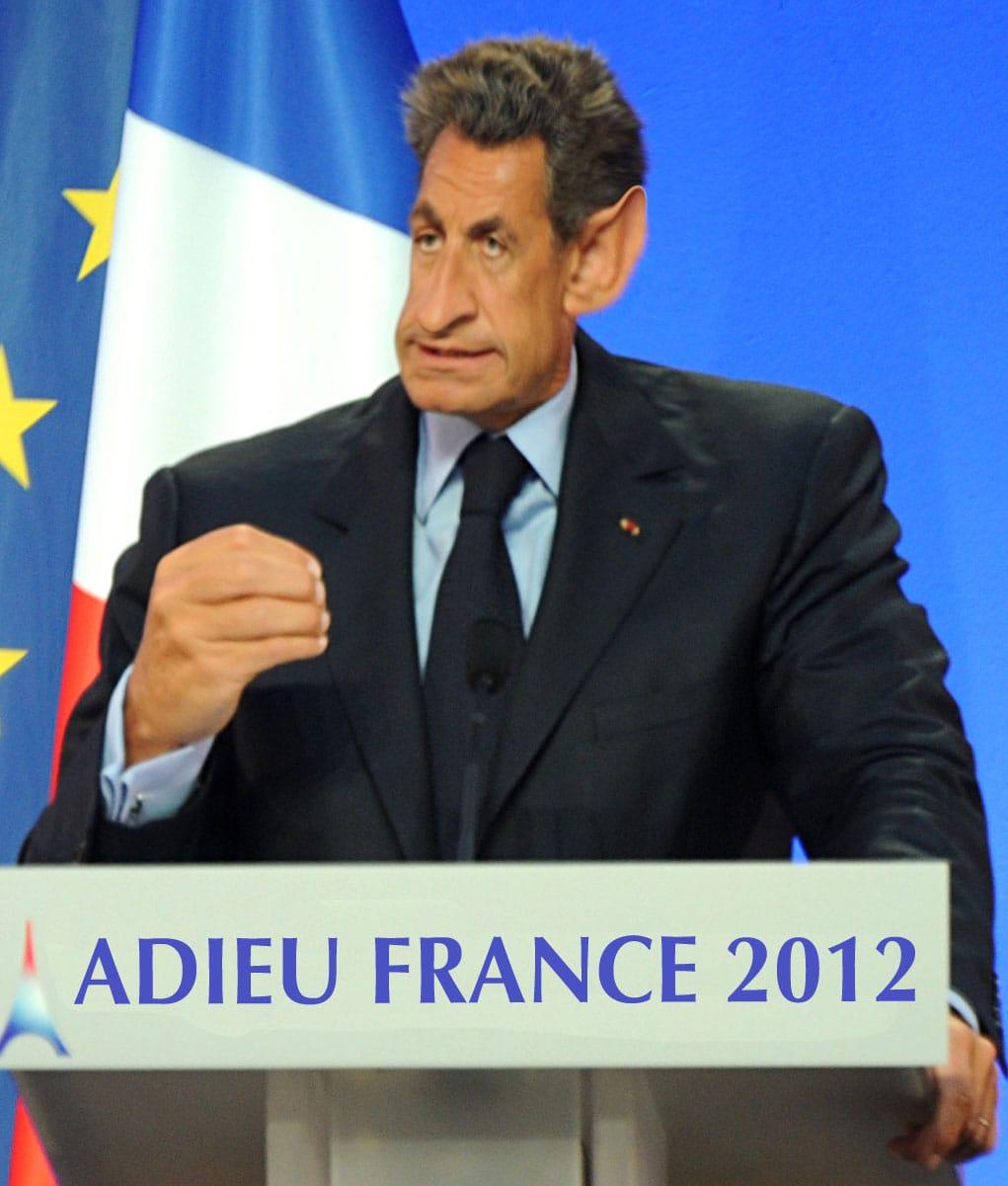 Sarkozy auf der Flucht - Asyl bei Merkel