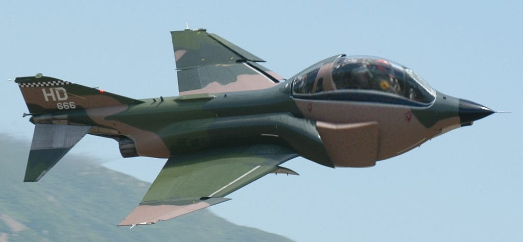 F-4 Phantom drone with big electronic warhead