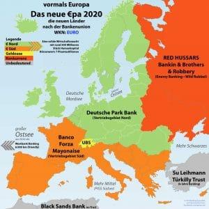 Draghische Momente einer €rotischen Einheizwährung Europa 2020 nach Bankenunion