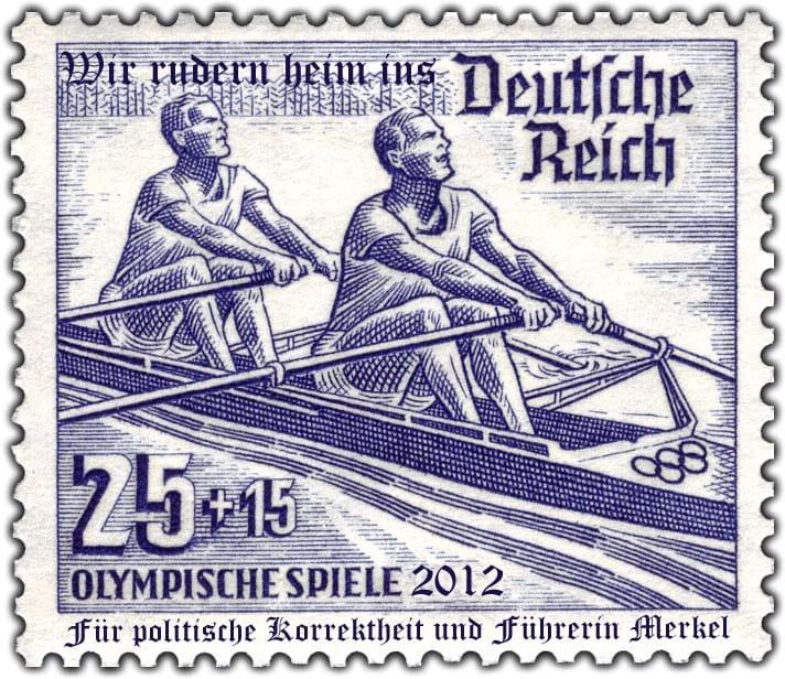 DR_1936_615_Olympische_Sommerspiele_Rudern 2012