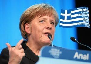 Merkel führt Selbstgespräche mit Samaras