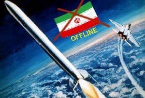 Krieg gegen Iran voll im Gang, iranische Sender aus dem All geholt
