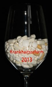 Krankheitsreform 2013