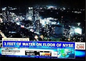New Yorker Börse abgesoffen und geschlossen, Weltmarkt Six Feet Under