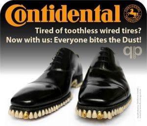 Contidental Schuh mit Biss