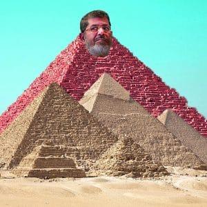 Pharao Mursi plant weltgrößten Pyramiden-Neubau