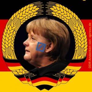 Die Linke ist klarer Siecher des Tages in Meck-Pomm mit 6 Prozent Schwund Angela Merkel CDU Staatsratsvorsitzende Angola Murksel