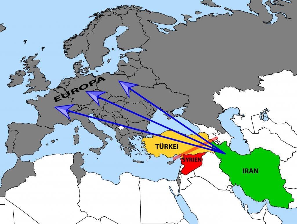 Europa Syrien Iran Szenario