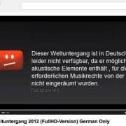 GEMA rettet Deutschland vor Weltuntergang Sensation