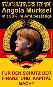 Kanzlerin Merkel bucht Fortbildungskurs in Angola