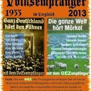 GEZ Propaganda-Zwangsabgabe 2013 bis aufs Blut verteidigt