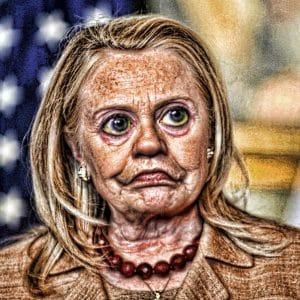 Hillary Clinton geifert: USA ist nicht vertrauenswürdig Hillary Clinton Evil Hilluminati Government Terrorism