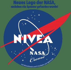 Mit NASA demnächst Werbung auf dem Mars nasa_logo_nivea_nsa_listen_to_the_universe_werbung auf dem mars kommerzielle raumfahrt