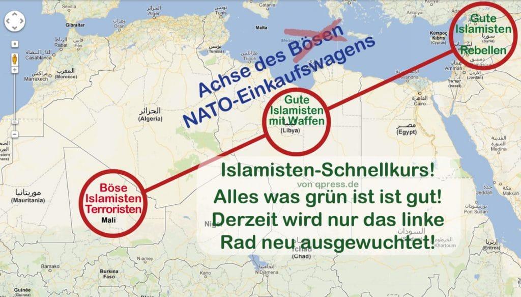 Industriestaaten helfen Mali bei Entsorgung gefährlicher Bodenschätze Achse des Boesen NATO Einkaufswagens Rohstoffe Mali
