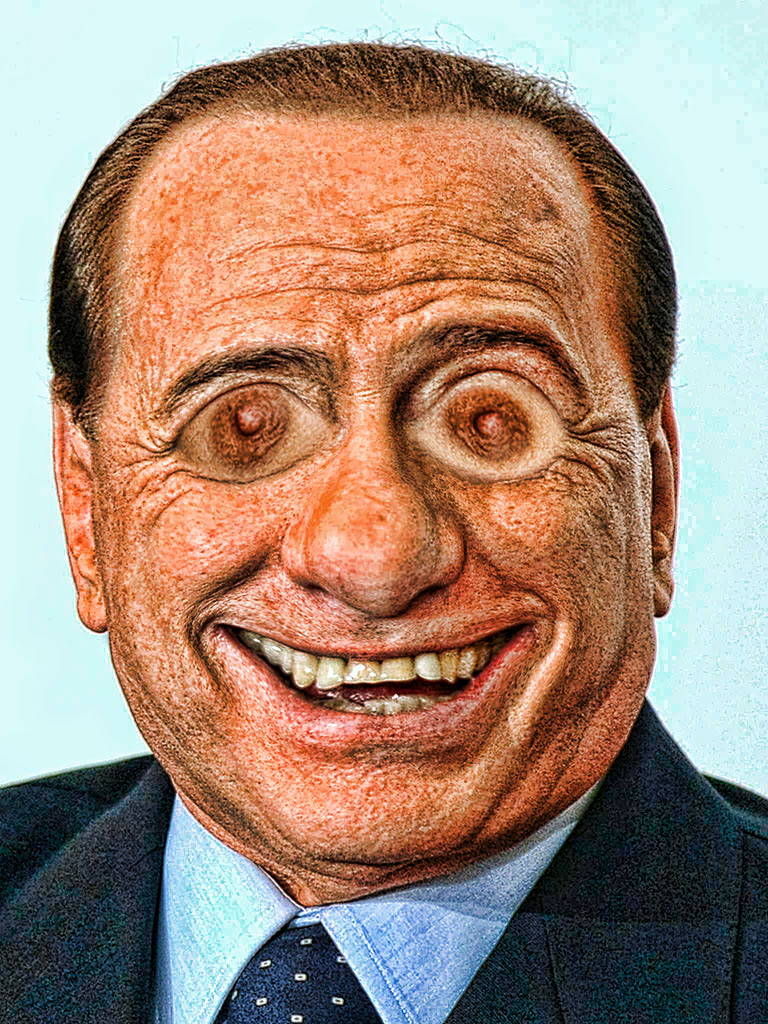 Bruno Bärlustconi, der Lustgreis, entgeht dem Abschuss Berlusconi Silvio Lustmolch Baer Lust Coni Lustgreis