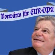 Gauck, Joachim • Bedenkentraeger Bannertraeger DDR Drittes Reich