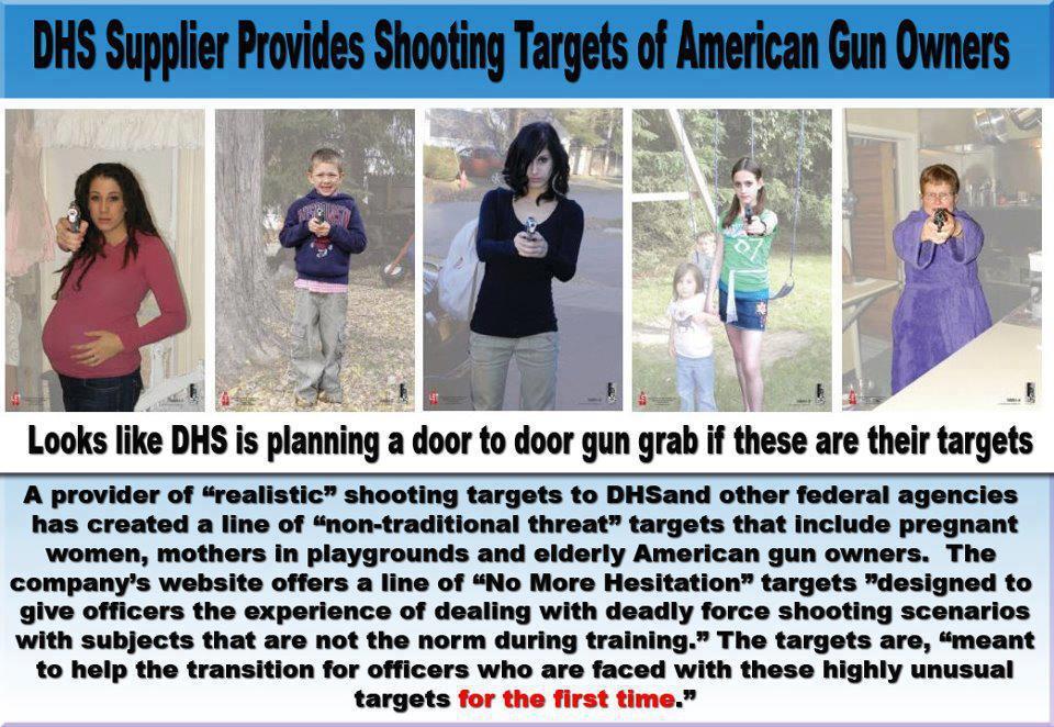 USA - Schwangere, Alte und Kinder als Zielscheiben Zielscheiben Homeland Security DHS