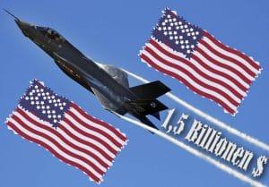 Größtes US Billionengrab Einzelprojekt hat einen Namen: F-35 F35 Totmacher Prototyp Billionengrab Geldverschwendung