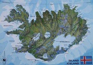 Island Karte