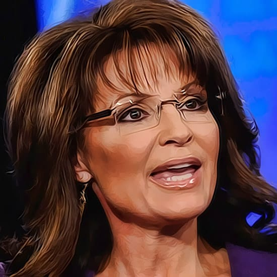 sarah Palin looking nice for public