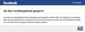 Facebook löscht und sperrt wegen Wikipedia-Content, Kritik an religiös motivierter Verstümmelung unerwünscht Bildschirmfoto 2013-05-13 Sperrung Facebook