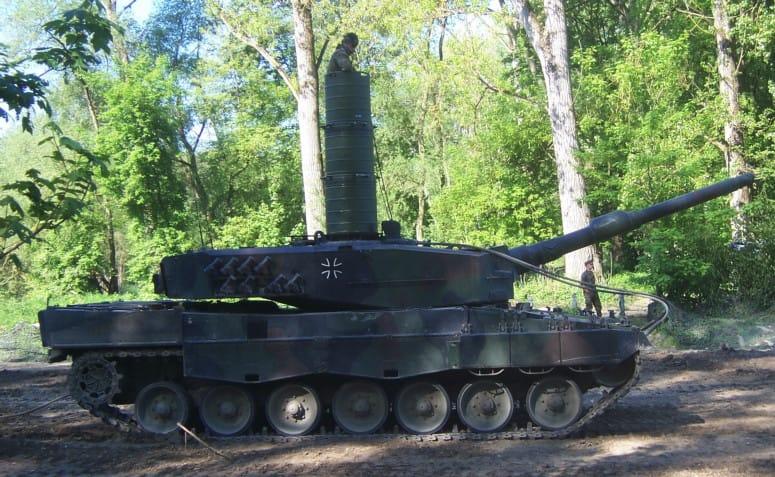 Deutsche Panzer für die Entspannung nach Katar