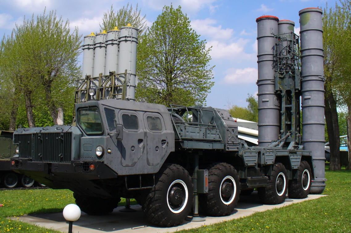 S-300 Boden Luft Raketen mobile Abschusseinheit